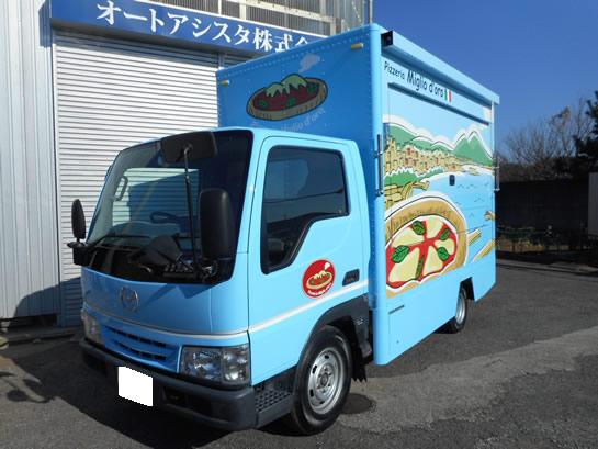 マツダ タイタンダッシュ ピザ販売車